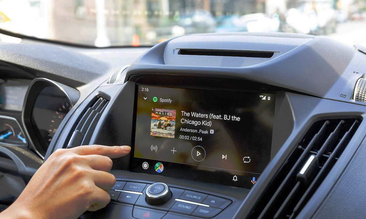 Amplificateur pour autoradio android